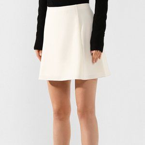 NEW THEORY  Womens Crepe A-Line Mini Skirt 6